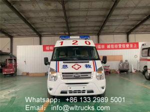 Ford V348 Guardianship Ambulance car