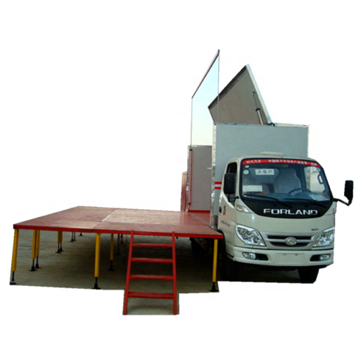 Foton 18㎡ to 24 ㎡ mini led stage truck