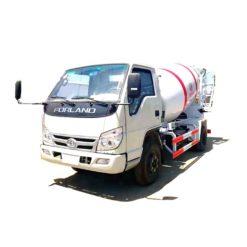 Foton 2m3 3m3 concrete mixer pump truck