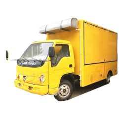 Foton 4.2m mobile diesel container restaurant food truck