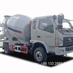 Foton 4m3 concrete mixer truck