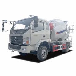 Foton 4m3 truck mounted concrete mixer