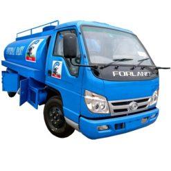 Foton 5000L small milk tanker truck