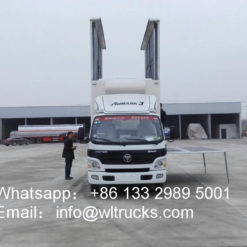 Foton Aumark led display truck