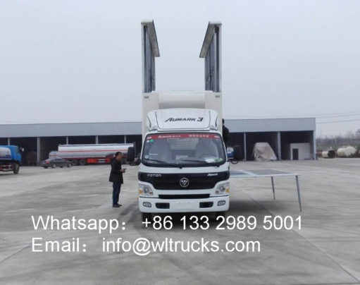 Foton Aumark led display truck