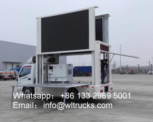Foton Aumark mobile led truck