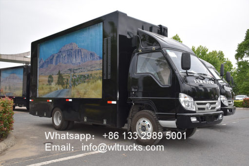 Foton led mobile truck