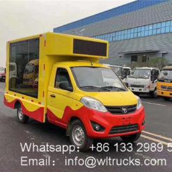 Foton mini led truck