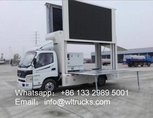 Foton mobile led truck