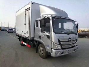 Foton semi fresh fish refrigerated transport truck