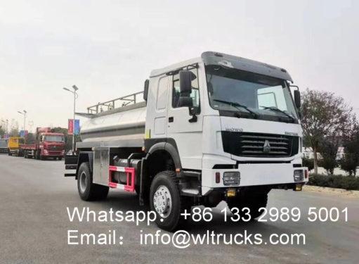 Fresh Farm Milk Transport Truck