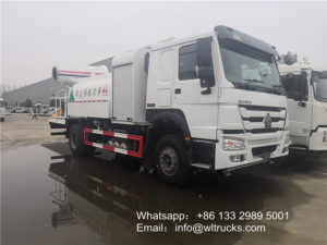 HOWO 12000l disinfection spray truck