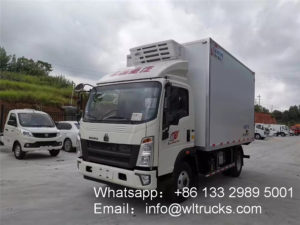 HOWO 5.2m 6 ton Refrigerated truck