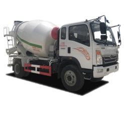 HOWO 6m3 concrete mixer truck