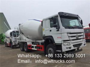 Howo 14m3 Concrete mixer truck