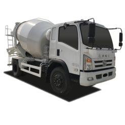 Hyundai Nanjun 6m3 concrete mixer truck