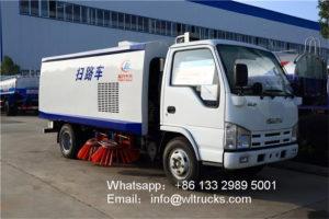 ISUZU 100P 3 ton sweeper truck