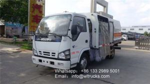 ISUZU 600P 6000L Guardrail cleaning truck