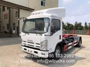 ISUZU ELF 6 ton to 8 ton Hook arm garbage truck