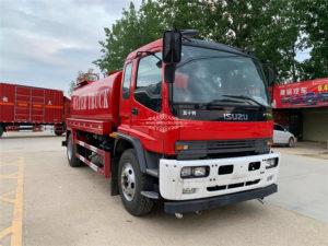 ISUZU ftr 12 ton water bowser truck