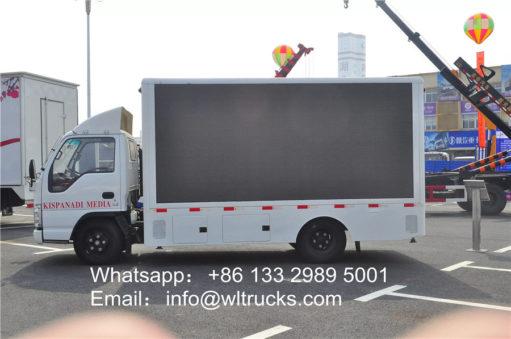ISUZU led mobile truck