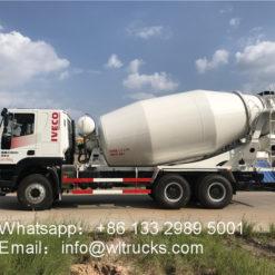 6x4 IVECO Hongyan 15m3 Concrete mixer truck