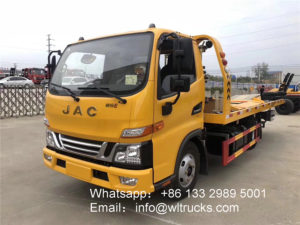JAC 5 tonne flatbed tow truck