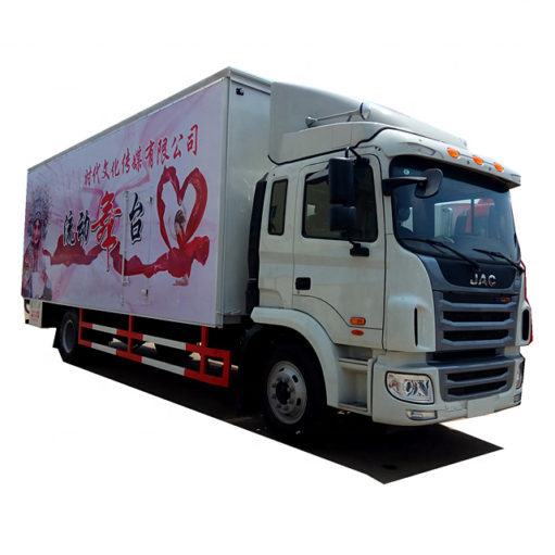 JAC 60 square meters flow stage truck trailer