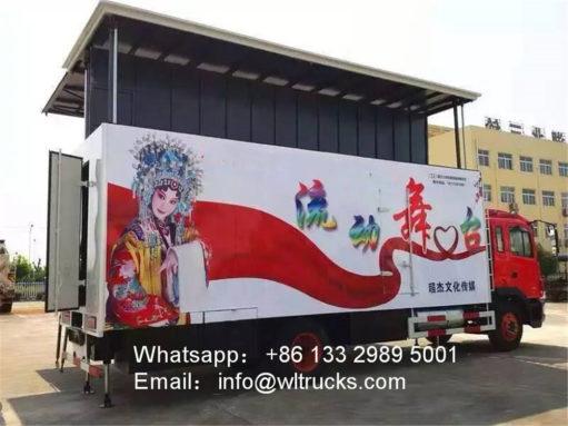 JAC 60 square meters stage truck