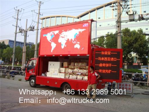 JAC Led Screen Truck