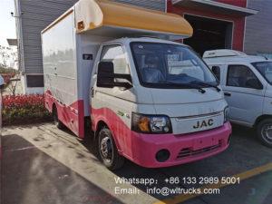 JAC coffee food truck