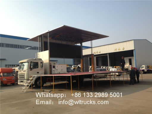 JAC stage truck