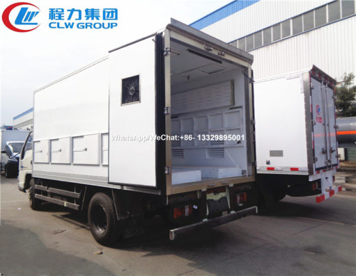 JMC 4 meter chick transport trucks