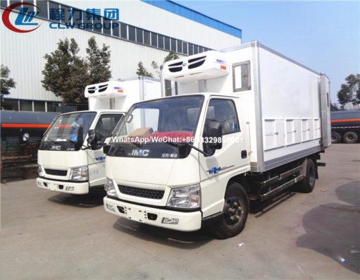 JMC chick transport truck