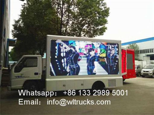 JMC led billboard truck