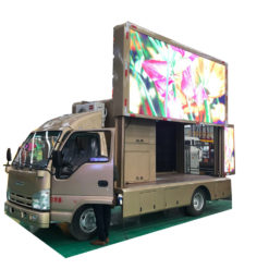 JMC mobile led billboard truck
