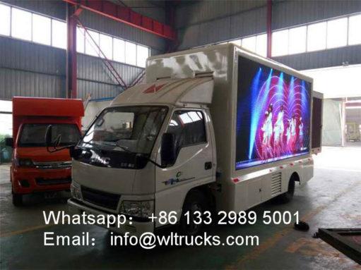 JMC mobile led truck
