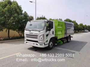 JMC road sweeper truck