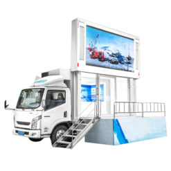 Japan Isuzu 10m2 to 12m2 led screen truck