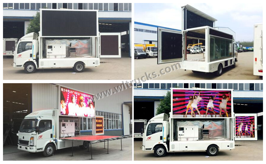 Japan Isuzu 10m2 to 12m2 led screen truck