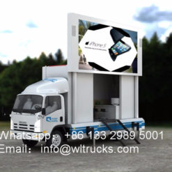 Japan Isuzu led screen trucks