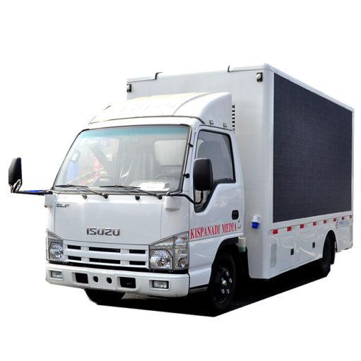 Japanese ISUZU led mobile truck