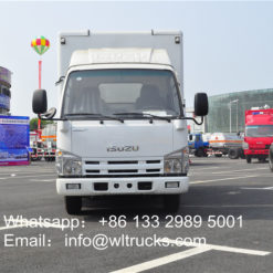 Japanese ISUZU led mobile trucks
