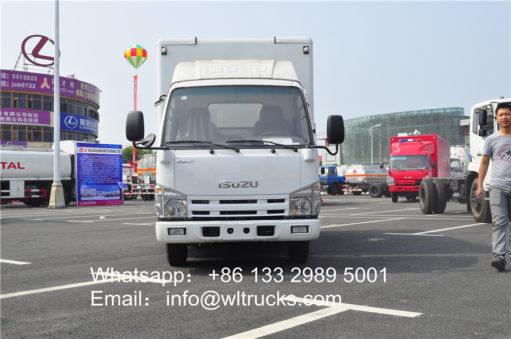 Japanese ISUZU led mobile trucks