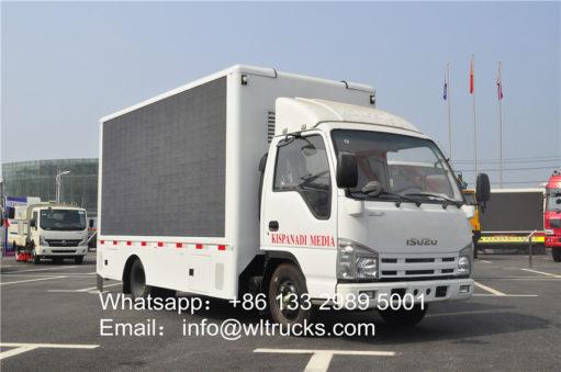 Japanese led mobile truck