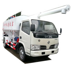 LHD Dongfeng 4 ton Fish bulk feed truck