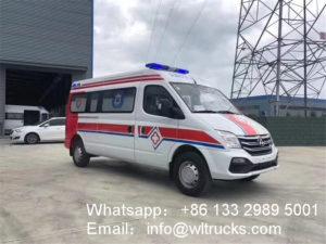 Maxus transfer medical ambulance