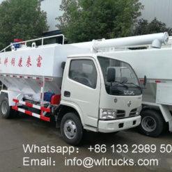 RHD/LHD Dongfeng 4 ton Fish bulk feed truck