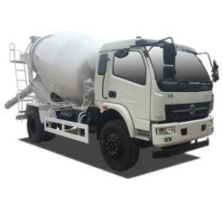 Shacman 6 cubic meters concrete mixer truck