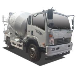 Sinotruk Wangpai 6cbm concrete mixer truck
